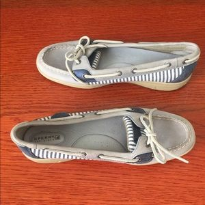 Sperry Top Sider Angelfish striped shoes